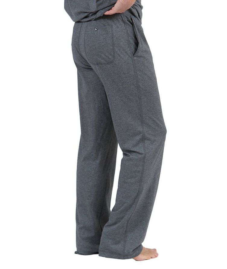 Drawstring Pima Cotton Pants image 1