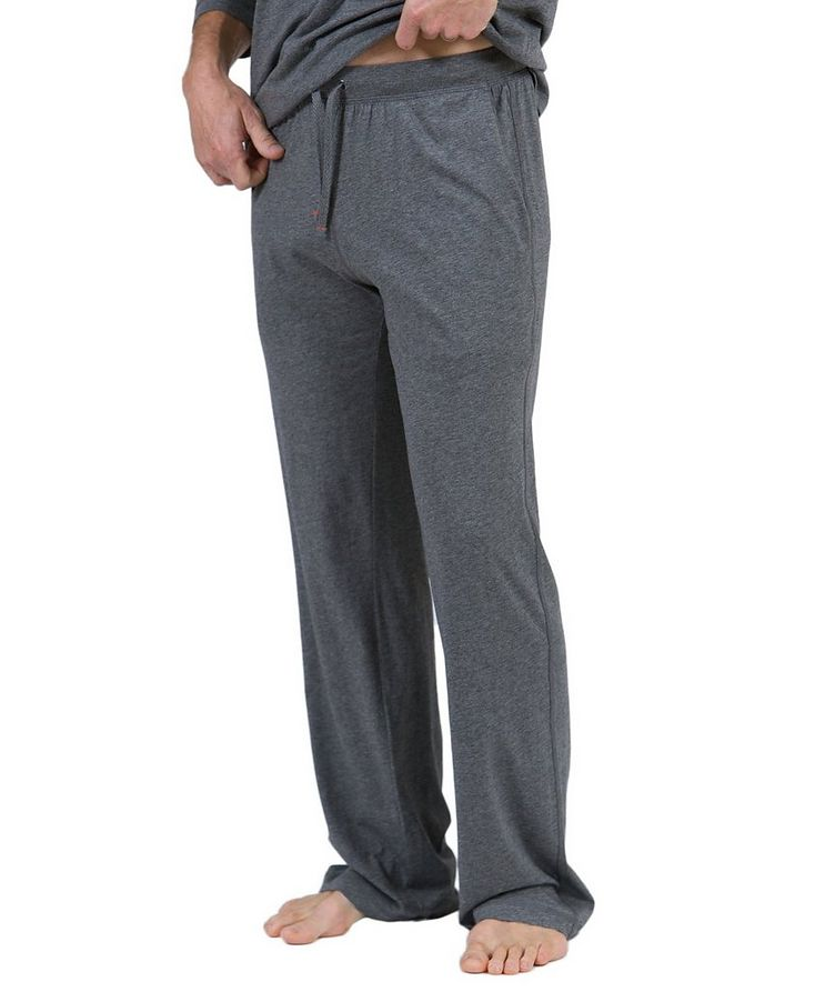 Drawstring Pima Cotton Pants image 0