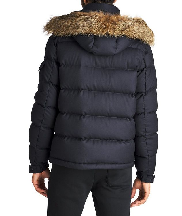 Allemand Fur-Trimmed Down Jacket picture 2