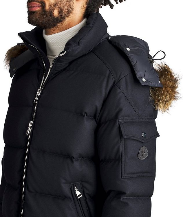Allemand Fur-Trimmed Down Jacket picture 3