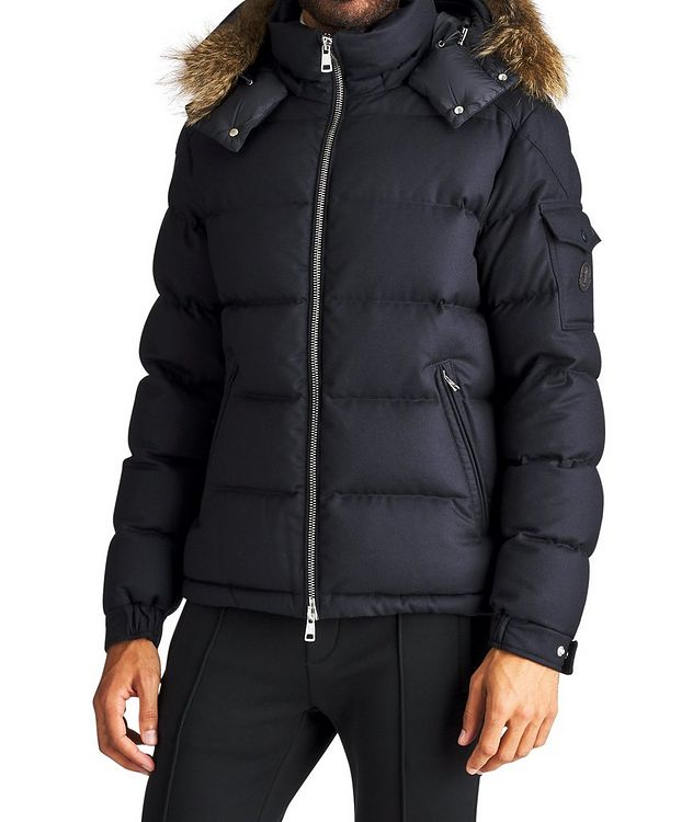 Allemand Fur-Trimmed Down Jacket picture 1