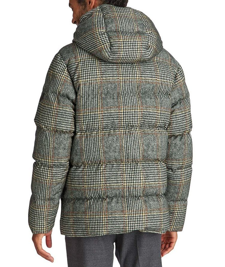 Rolland Plaid Down Jacket image 1