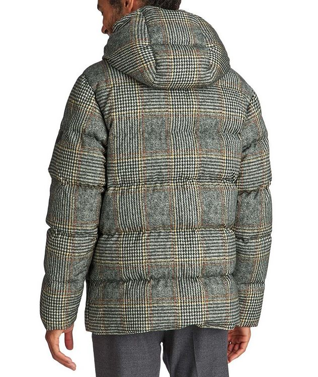 Rolland Plaid Down Jacket picture 2