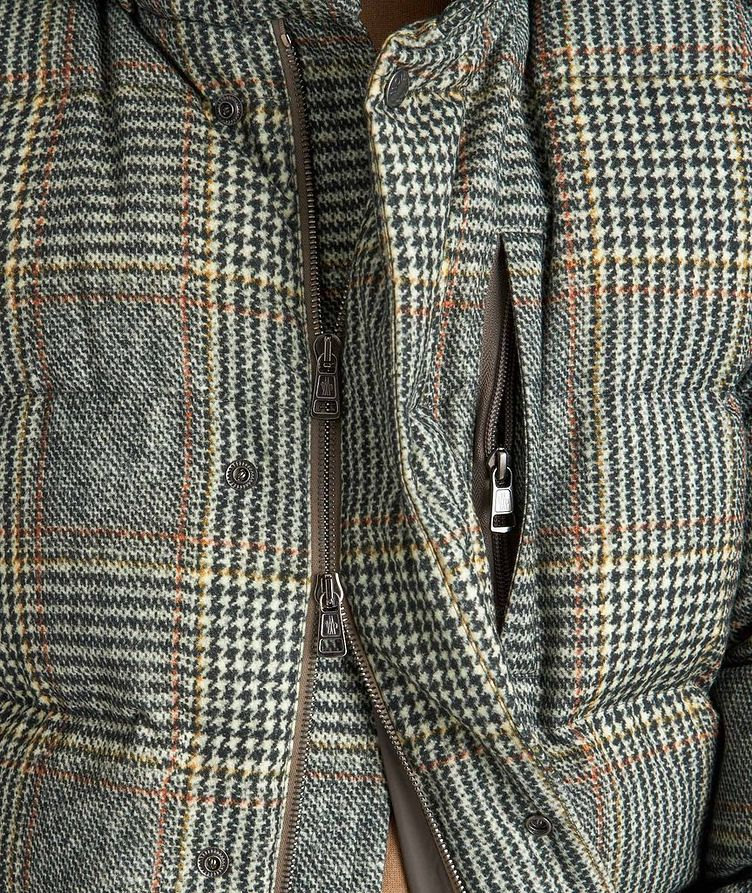 Rolland Plaid Down Jacket image 2