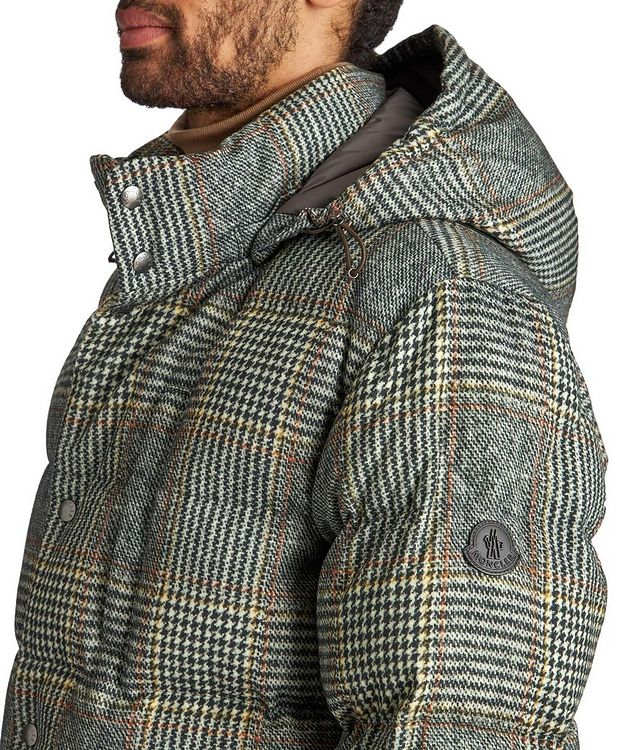 Rolland Plaid Down Jacket picture 4