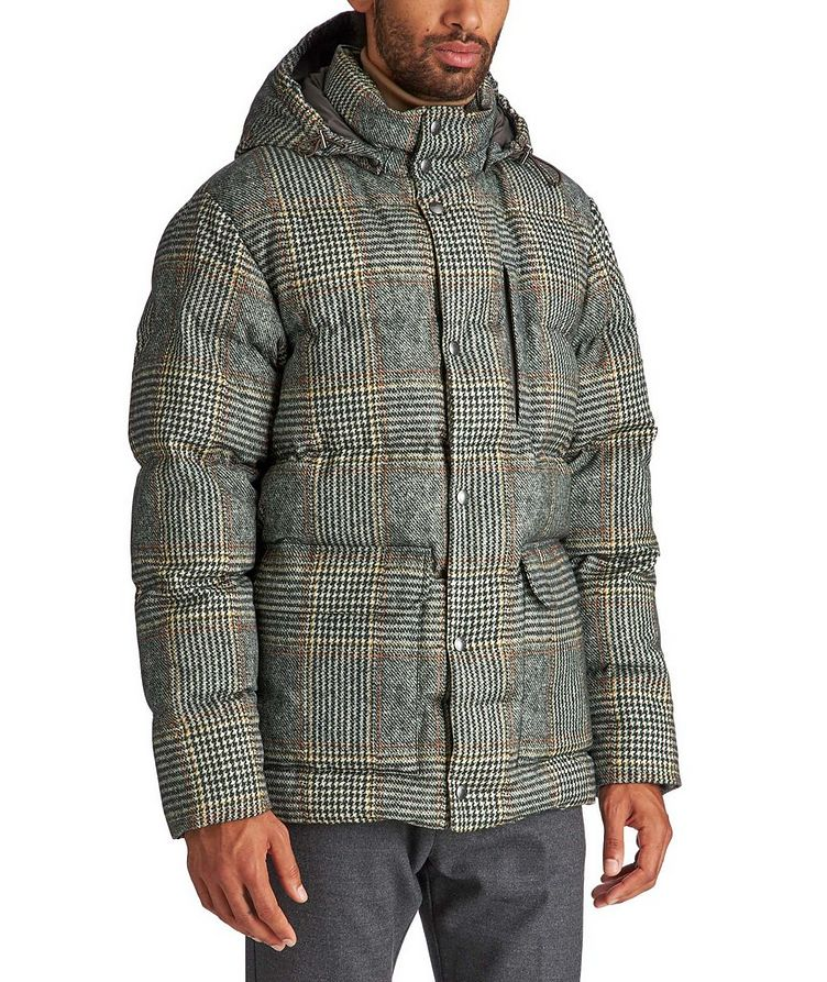 Rolland Plaid Down Jacket image 0