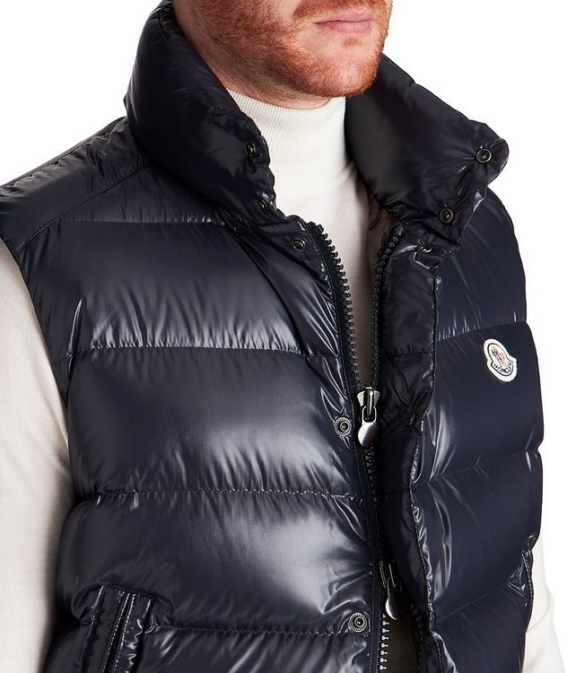 Tib Quilted Down Vest picture 3