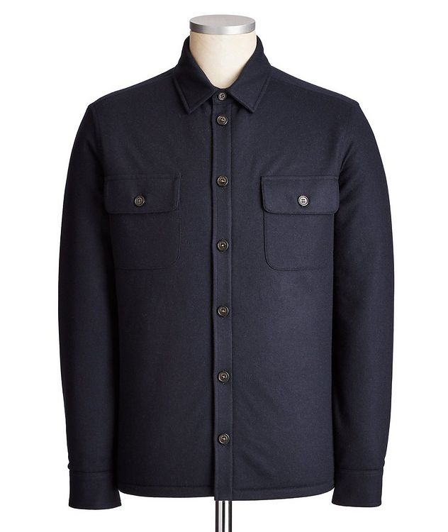 Cashmere Overshirt picture 1