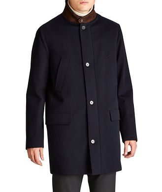 Loro Piana Green Storm System® Cashmere Coat