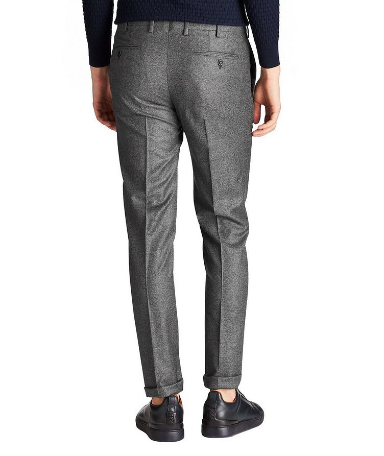 Virgin Wool-Cashmere Trousers image 1