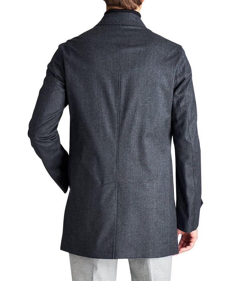 Boiled Wool Car Coat image 1