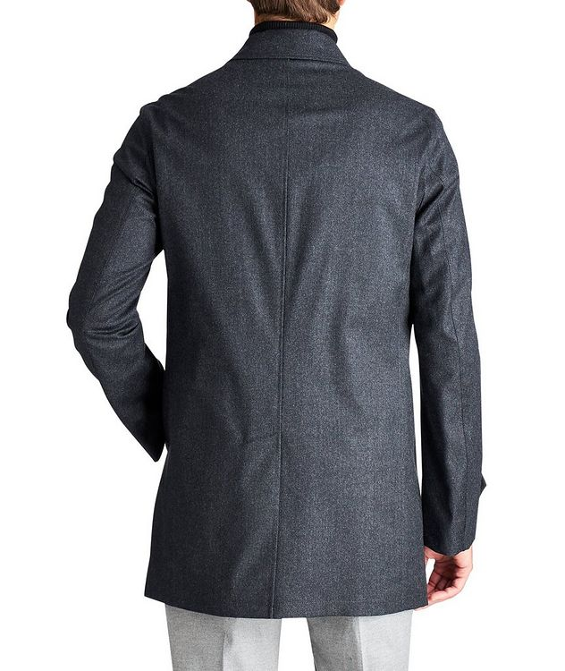 Boiled Wool Car Coat picture 2