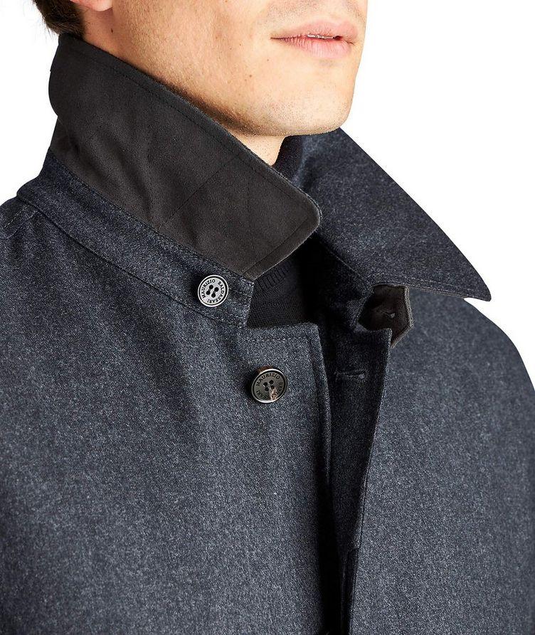 Boiled Wool Car Coat image 2