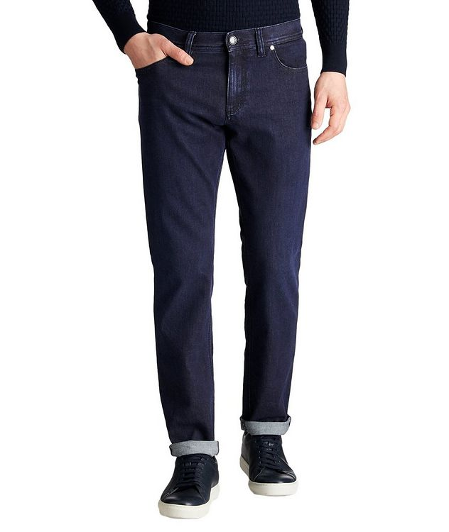 Pipe Slim Fit Premium Business Jeans picture 1