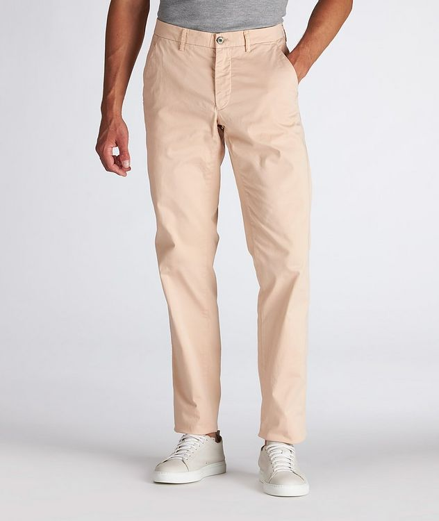 Slim Fit Stretch-Cotton Chinos picture 2