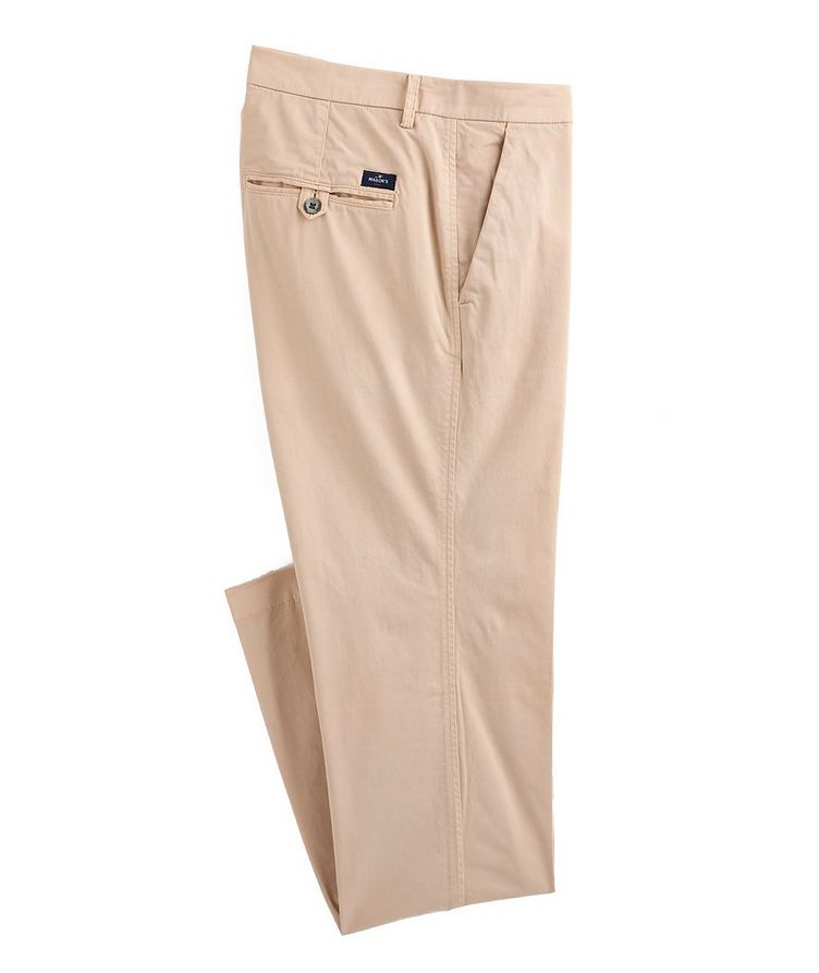 Slim Fit Stretch-Cotton Chinos image 0