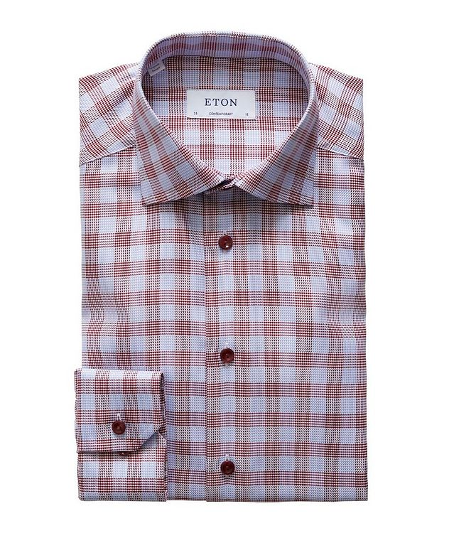 Contemporary Fit Checked Dress Shirt picture 1