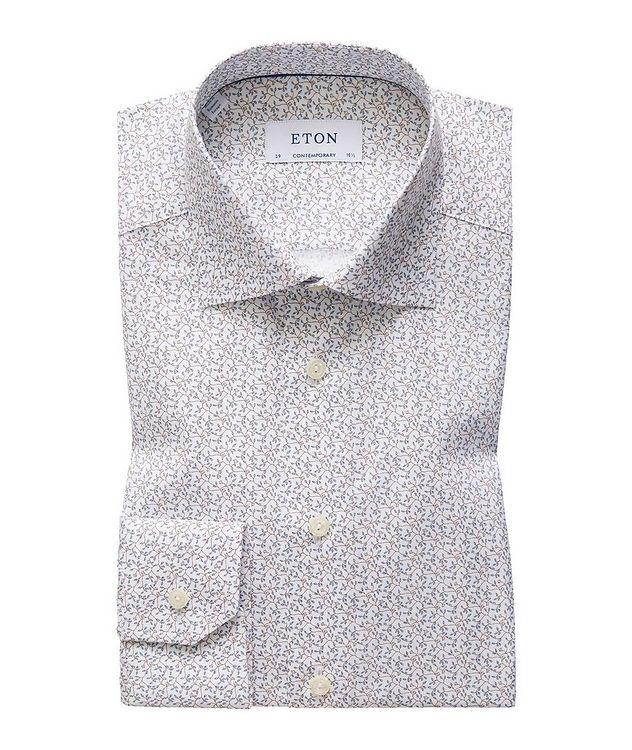 Contemporary Fit Botanical Dress Shirt picture 1