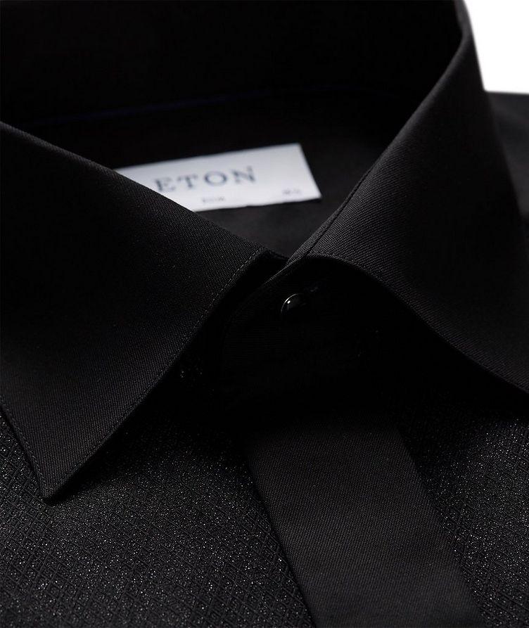 Slim Fit Textured Dress Shirt image 1