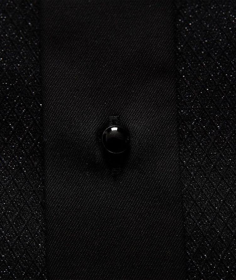 Slim Fit Textured Dress Shirt image 2