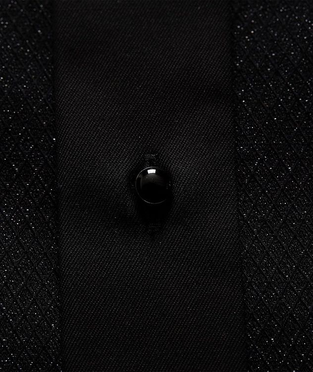 Slim Fit Textured Dress Shirt picture 3