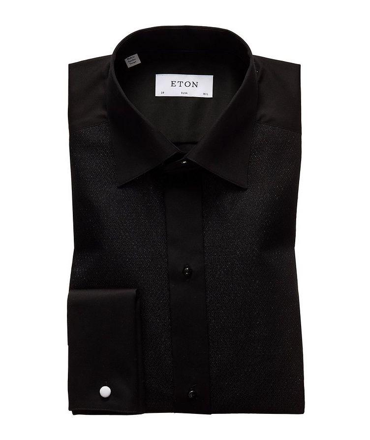 Slim Fit Textured Dress Shirt image 0