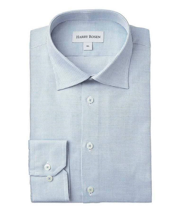 Contemporary-Fit Printed Dress Shirt image 0