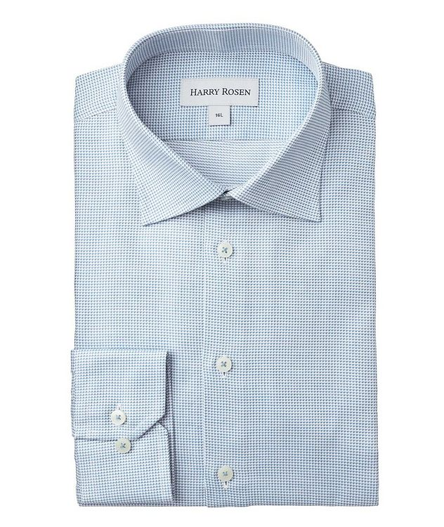 Contemporary-Fit Printed Dress Shirt picture 1