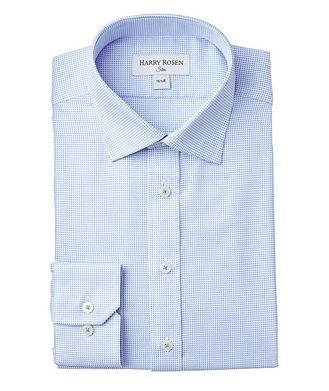 Harry Rosen Slim-Fit Printed Dress Shirt