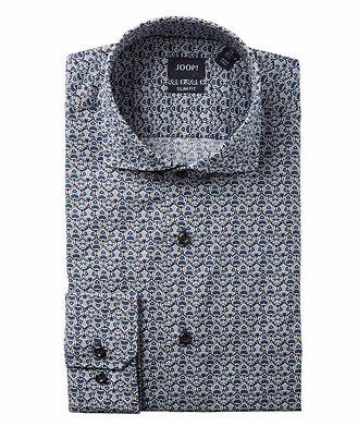 Joop! Slim Fit Damask-Printed Dress Shirt