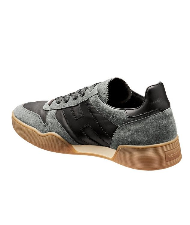 Suede & Mesh Sneakers picture 2