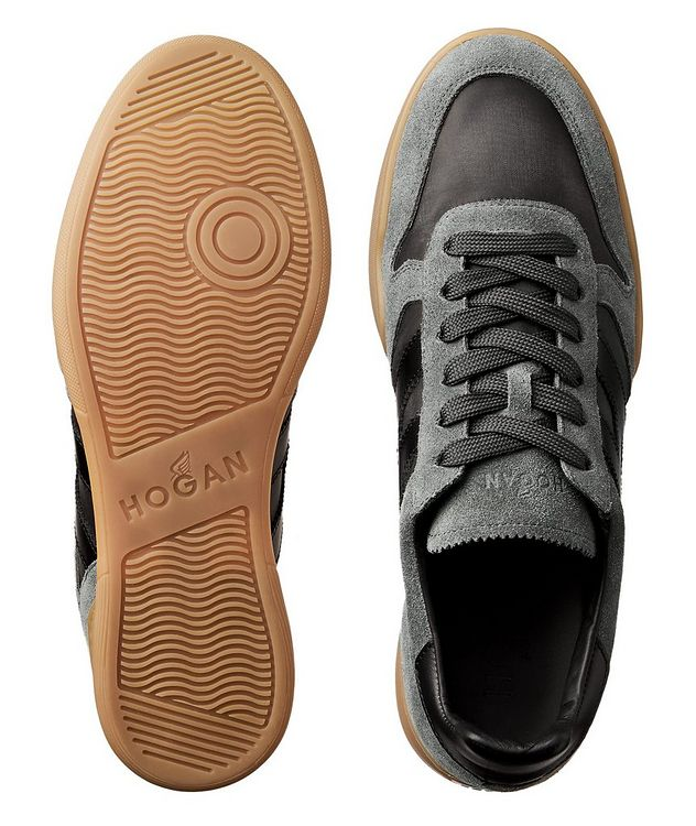Suede & Mesh Sneakers picture 3