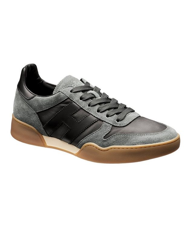 Suede & Mesh Sneakers picture 1