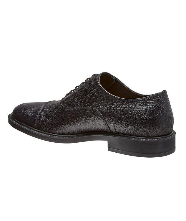 Chaussure lacée en cuir à bout rapporté picture 2