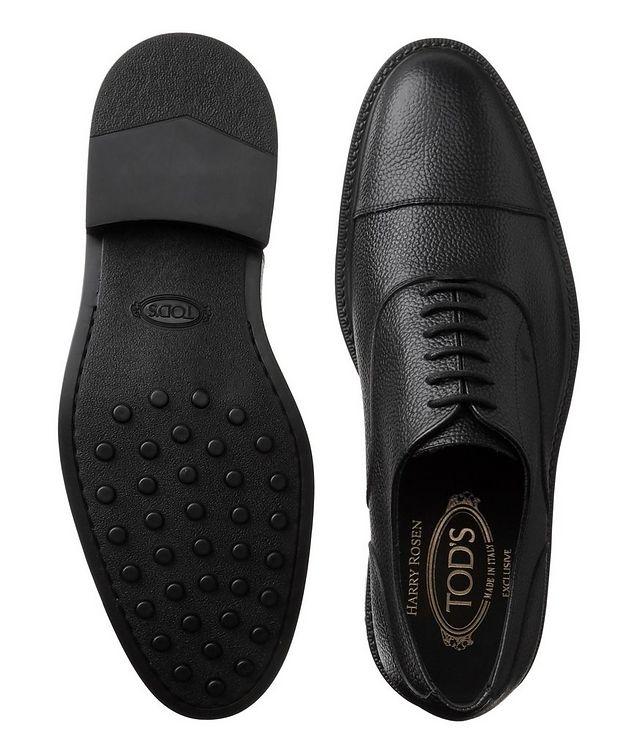 Chaussure lacée en cuir à bout rapporté picture 3