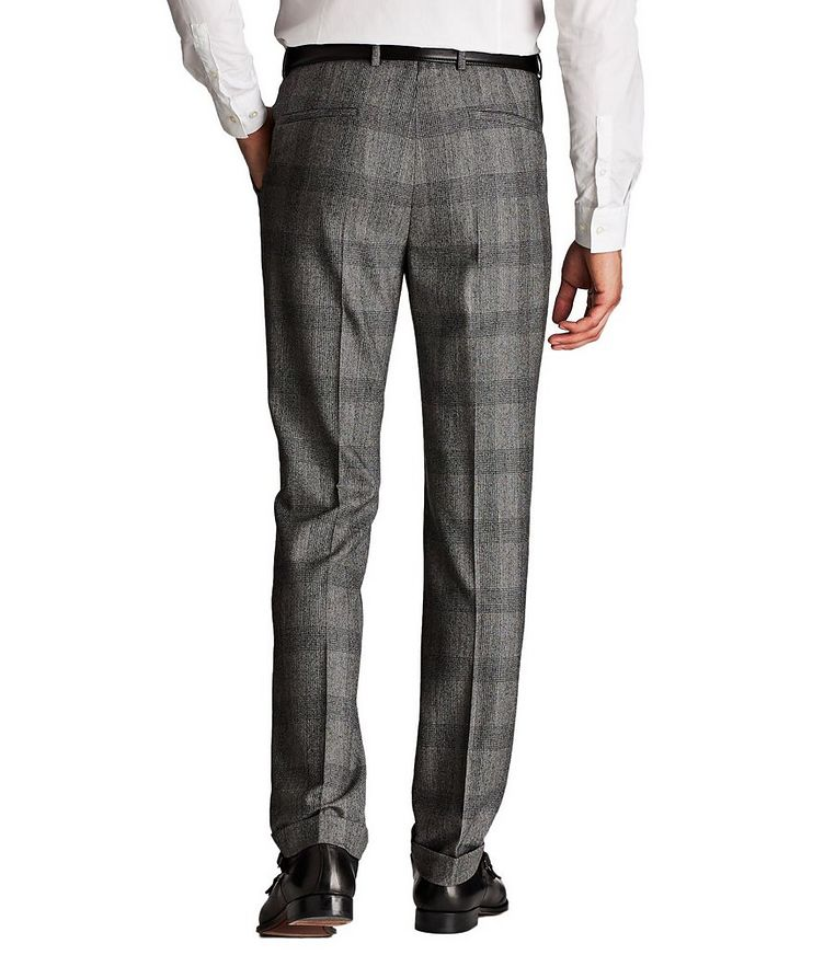 Contemporary Fit Checked Dress Pants image 1