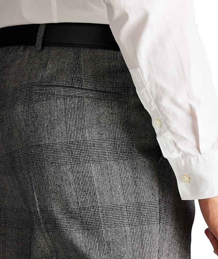 Contemporary Fit Checked Dress Pants image 2
