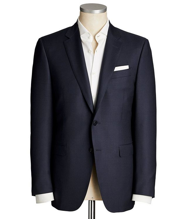 Contemporary Fit Micro-Check Suit picture 1