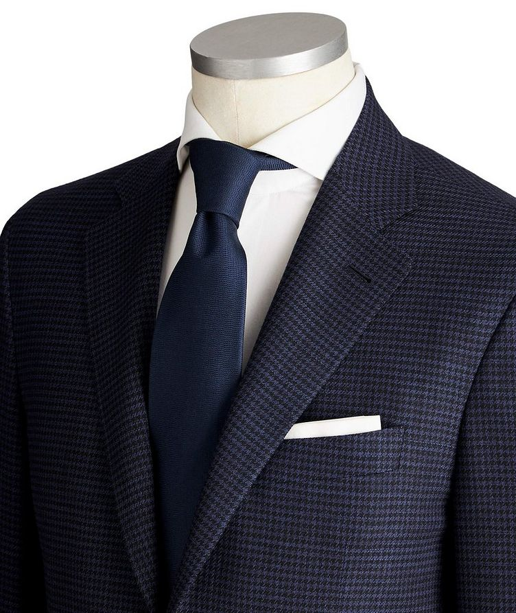 Impeccabile Kei Houndstooth Wool Suit image 1