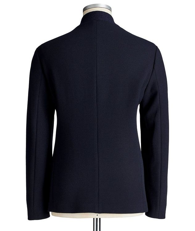 Stretch-Blend Cardigan Sports Jacket picture 3