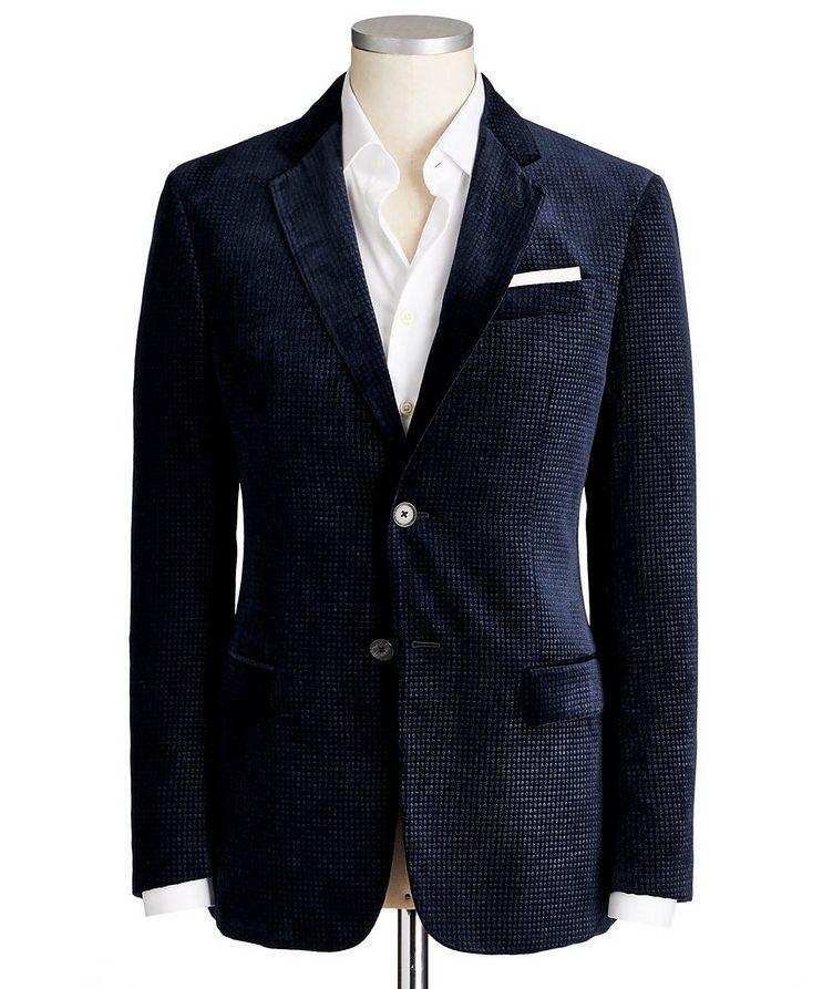 G-Line Textured Velvet Sports Jacket image 0