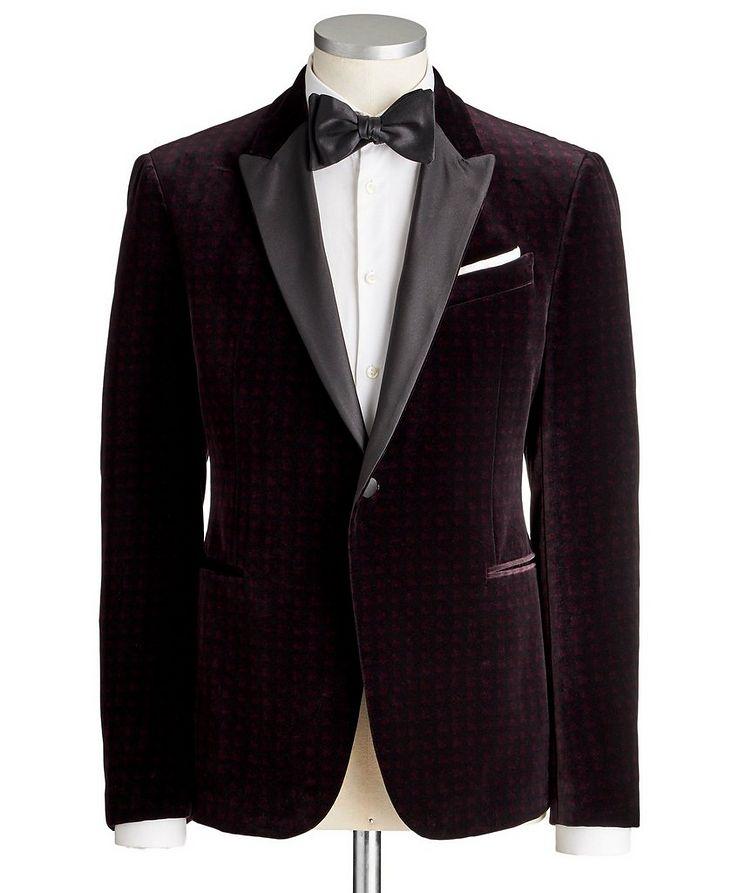 M-Line Velvet Tuxedo Jacket image 0