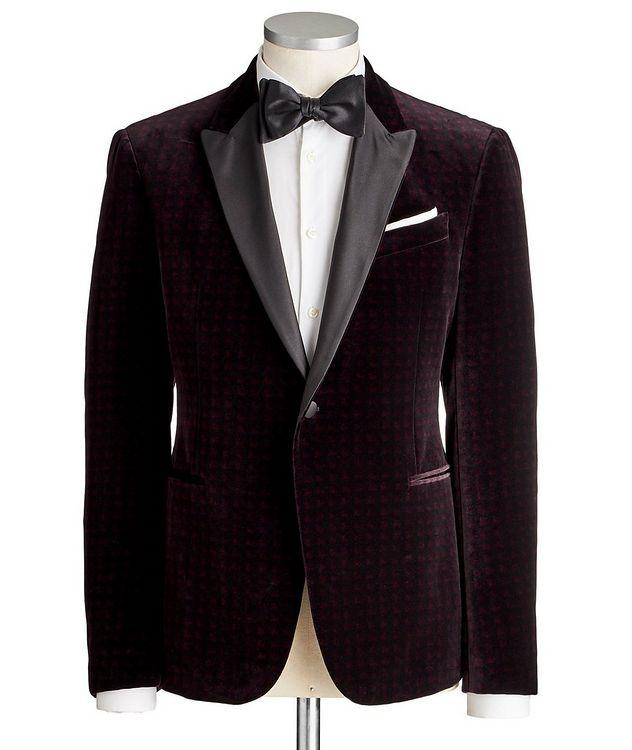 M-Line Velvet Tuxedo Jacket picture 1