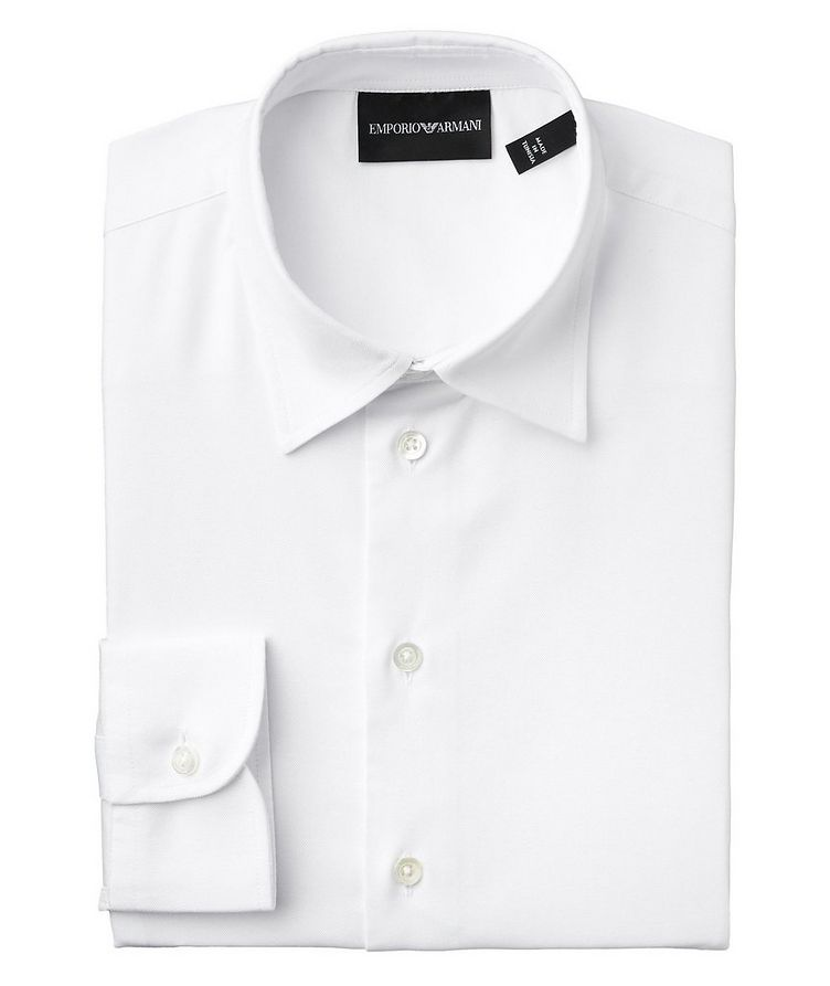Contemporary Fit Stretch-Cotton Dress Shirt image 0