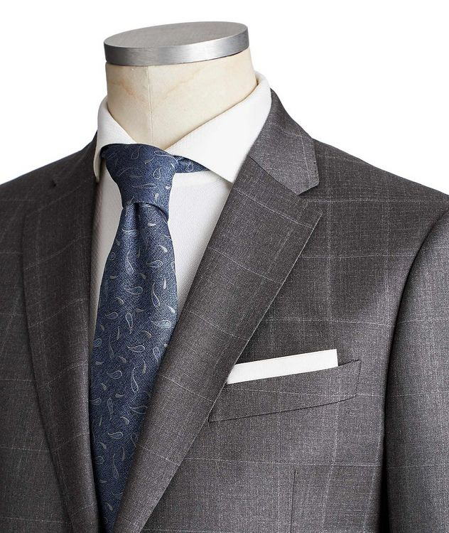 M-Line Windowpane Suit picture 2