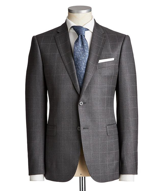 M-Line Windowpane Suit picture 1