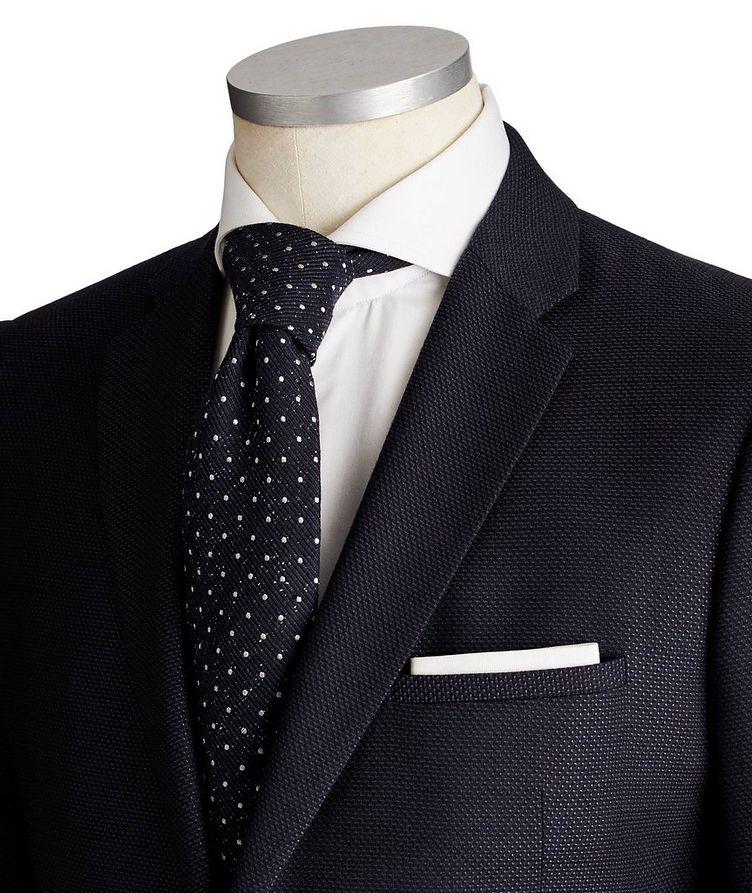 M-Line Bird's Eye Virgin Wool-Silk Suit image 1