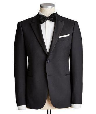 Emporio Armani M-Line Tonal Printed Tuxedo
