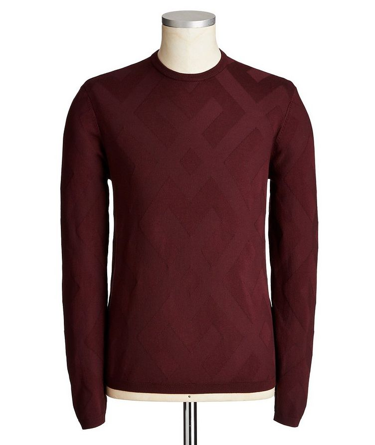 Printed Knit Sweater image 0