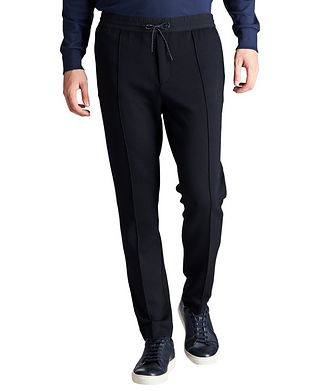 Emporio Armani Drawstring Stretch Trousers